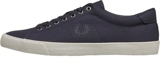 Fred Perry Mens Underspin Canvas Crepe Graphite