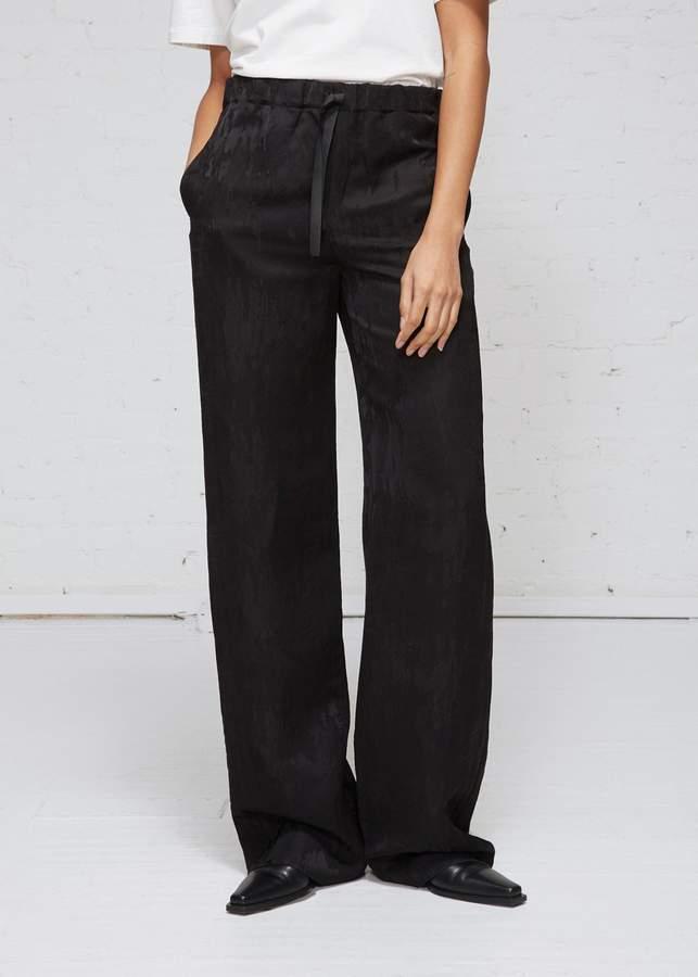 Yang Li Jacquard Drawstring Trousers
