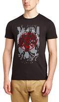 Voi Jeans Men's Skull Crew Neck Short Sleeve T-Shirt