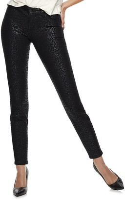 Nine West Women's Bedford Mid-Rise Skinny Jeans