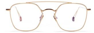 AHLEM Place Colette Optic Peony Gold Glasses