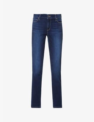 Paige Denim Brigitte skinny cropped high-rise jeans