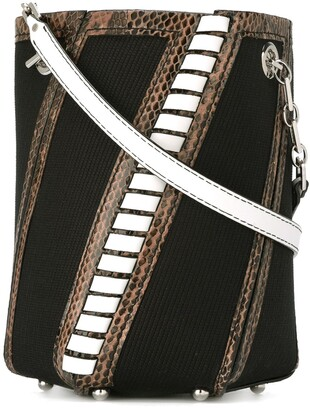 Proenza Schouler Hex striped bucket bag