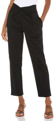 The Range Structured Twill Fold Over Pants