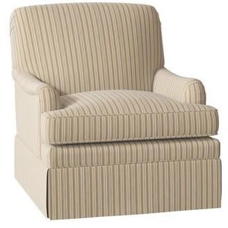 Stratford Armchair Duralee Furniture Body Fabric: Addie Central Park Sp