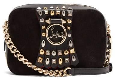 9bdb295e9ee Rubylou Embellished Leather Mini Cross Body Bag - Womens - Grey Multi