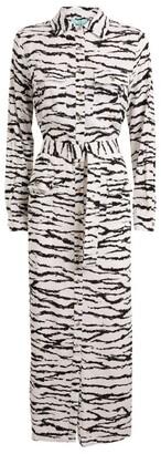 Melissa Odabash Belted Peggy Tiger Print Dress
