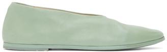 Marsèll Green Coltellaccio Ballerina Flats