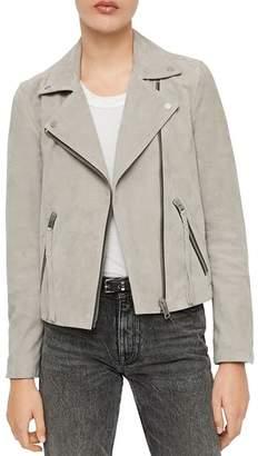 AllSaints X Dalby Suede Biker Jacket - 100% Exclusive