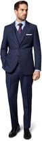 Ermenegildo Zegna Cloth Mens Regular Fit Navy Check Jacket