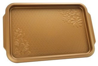 Gibson Home Gibson Country Kitchen 15 inch Cookie Sheet Copper Embossed Carbon Steel