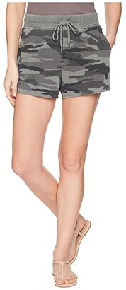 Splendid Camo Shorts (Vintage Olive Branch) Women's Shorts