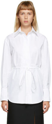 Valentino White Poplin Shirt