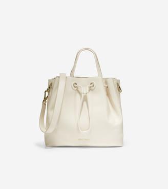 Cole Haan Leather Bucket Bag