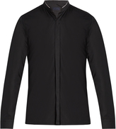 Lanvin Mandarin-collar single-cuff cotton shirt