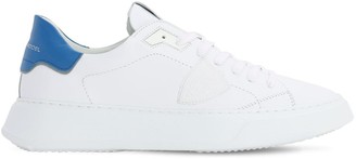 Philippe Model Temple Veau Gomme Leather Sneakers