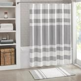 """Madison Park Spa Waffle Shower Curtain with 3M Treatment - Gray/72"""" x 72"""""""
