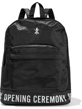 Opening Ceremony Oc Printed Rubber-trimmed Embroidered Twill Backpack
