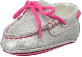 Cole Haan Grant Driver Layette (Infant) - Silver/Electra Pink-Girls-1 Infant