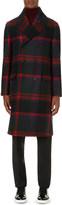 Burberry Oversize check wool coat
