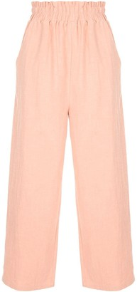 AUGUSTE Peggy cropped trousers