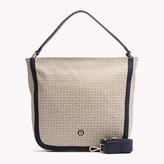 Tommy Hilfiger Jacquard Hobo Bag