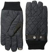 Original Penguin Men's Quilted Nylon Gloves