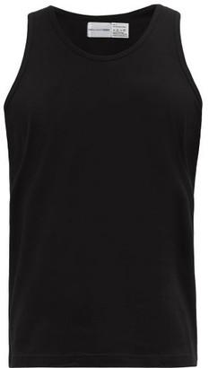 Comme des Garcons Round-neck Cotton-jersey Tank Top - Mens - Black