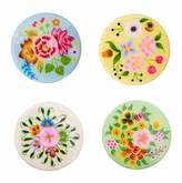 Karma Living Floral Coasters - Set of 4