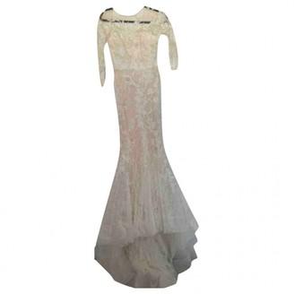 Elie Saab Beige Lace Dresses
