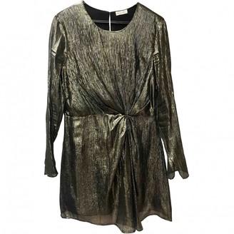LoveShackFancy Gold Silk Dresses