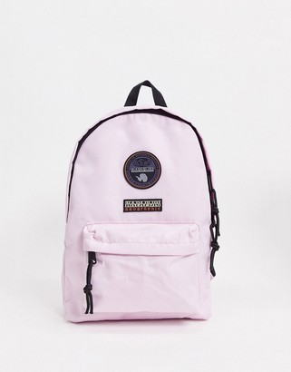 Napapijri Voyage mini backpack in light pink