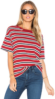 Levi's Sutro Striped Tee in Red