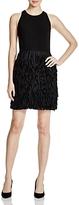 Aqua Sleeveless Fringe Dress - 100% Exclusive