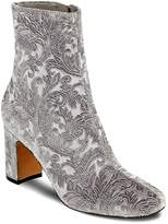 Marc Fisher Grazi Flocked Velvet Booties