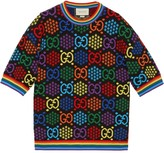 Gucci GG Psychedelic jacquard top