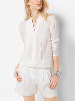 Michael Kors Pleated Tunic