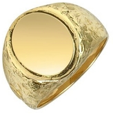 Torrini Oval 18K Yellow Gold Men's Ring