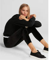 Express mid rise velvet leggings