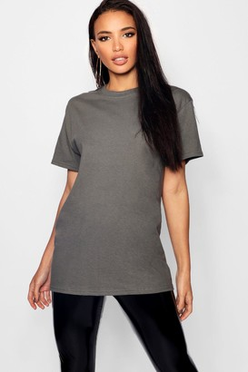 boohoo Basic Oversized Boyfriend T-shirt