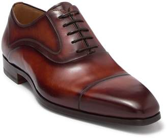Magnanni Leather Cap Toe Oxford