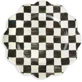Mackenzie Childs MacKenzie-Childs Courtly Check Enamel Petal Charger/Plate