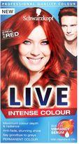 Schwarzkopf LIVE Intense Colour 035 Real Red Hair Dye