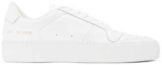 Common Projects White Full Court Sneakers