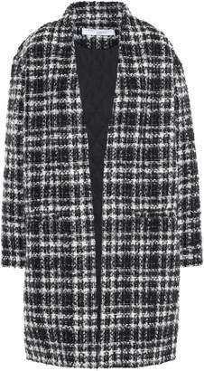 IRO Checked Boucle-tweed Coat