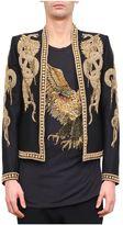 Balmain Embroidered Wool Blazer