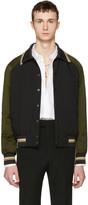 Lanvin Tricolor Bomber Jacket