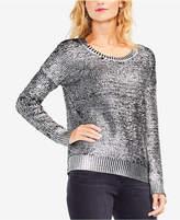 Vince Camuto Metallic Sweater