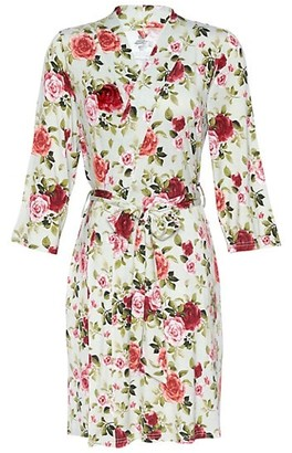 Posh Peanut Lizzie Floral Mommy Robe