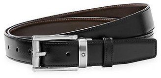 Montblanc Reversible Cut-To-Size Leather Business Belt